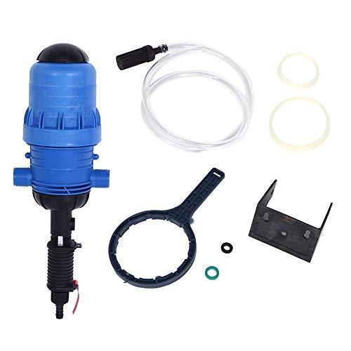 TOPINCN - Dispensador De Inyector De Fertilizante para Riego con Gota De Gota, Abono, Herramienta De Dosificación Automática del Ganado, Agua Alimentada por Riego (G3 / 4In)