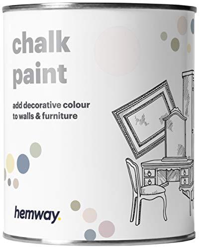 Hemway - Kreidefarbe für Möbel & Wände - matt - Shabby Chic & Vintage-Design - 14 verschiedene Farben - 1 Liter