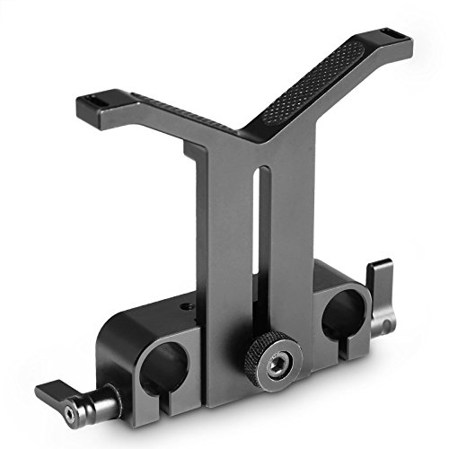 SMALLRIG Lens Support with 60mm Adjustable Height and 15mm Rod Clamp for Diameter 50mm to 140mm Lens - 1784