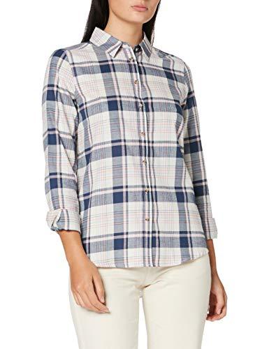 Springfield 1.T.Ap.Camisa Apuesta Alg-C/96 Blusa, Beige (Ivory 96), 36 (Tamaño del Fabricante: 36) para Mujer