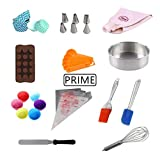 Prime Bakers and Moulders Cake Bakeware Kitchen Combo Set of 12 Baking Tools