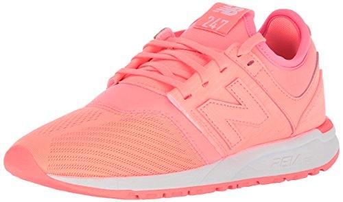 New Balance Damen WRL247-SW-B Sneaker, Orange, 40 EU