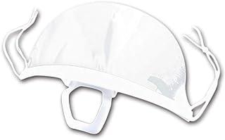 SR-CN 10pc Plastic Transparent Environmental Mouth Mask For Restaurant Microblading Accessories Tattoo Tools Permanent Makeup Supplies (Color : Transparent)
