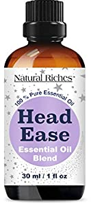 Natural Help For Headache Relief: The Essential Oils present in the blend stimulate blood flow, relax the muscles for an all-natural, effective migraine and tension headache relief. Simply apply the blend to forehead, temples and back of neck after d...