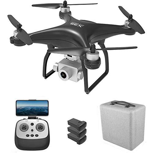 ZHCJH Drone GPS con cámara para Adultos, 1080P HD 5G WiFi D