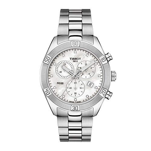 Tissot Damen-Chronograph PR 100 Sport Chic Lady T101.917.11.116.00