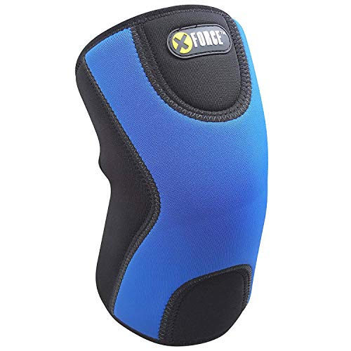 The Only 9MM Knee Brace Sleeve with Best Patella Compression for Meniscus Tear & Arthritis, Joint Pain Relief, Injury Recovery - Ideal for Running, Basketball, Tennis. (Neoprene 9mm, Small)