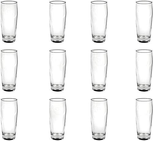 batania 12 x 0,5 Liter Willi Becher/Limoglas/Seidlaglas/Trinkglas