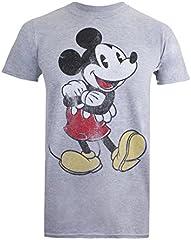 Disney Vintage Mickey Camiseta para Hombre