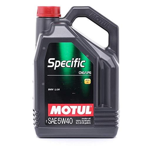 Motul 101719 Motoröl Specific CNG/LPG 5W-40, 5 L