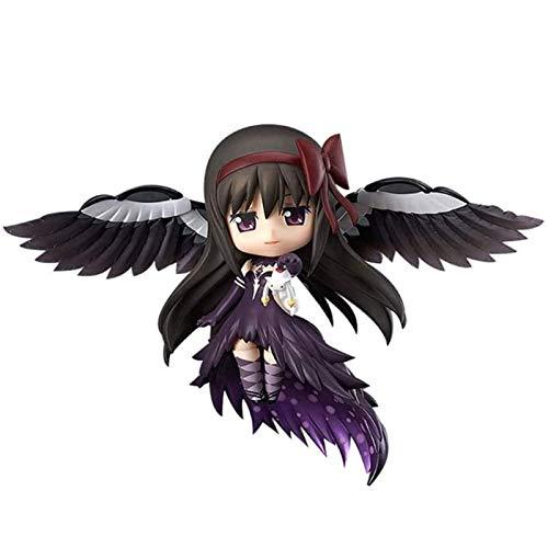 YANAN Anime Action Figure Puella Magi Madoka Magica Akemi Homura Nendoroid Model Toy Doll Ornaments Collected Surprise Gifts 10CM