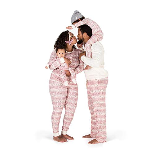 Burt's Bees Baby Unisex Family Jammies, Holiday Matching Pajamas, Organic Cotton