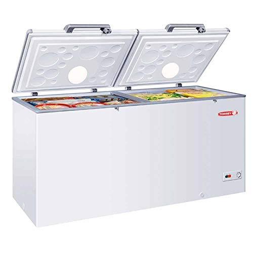 Torrey Chtc-255D Congelador Horizontal Digital Blanco Doble Tapa 2 Canastillas Temperatura Dual 25.4 Pies