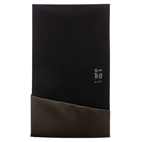 ポケットふくさブラック/カーキ (SFK02-02)慶弔両用スーツの内ポケットに収まる袱紗