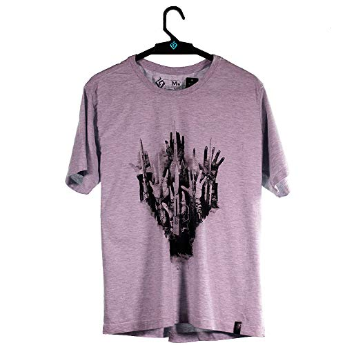Camiseta Assassin's List, Assassin´s Creed, Masculino, Cinza Mescla, 2G
