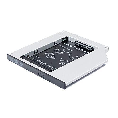 Disco duro SSD para Lenovo IBM ThinkPad T60 T60P T61 T61P X61 X61S X61T 12 14 pulgadas Laptop PC Notebook Adaptador de la caja de disco duro, CD DVD Bahía óptica de repuesto
