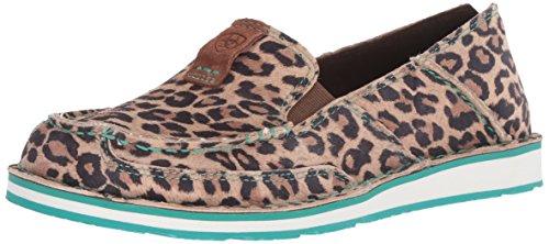 Ariat Women's Cruiser Slip-on Shoe Casual, Cheetah, 9.5