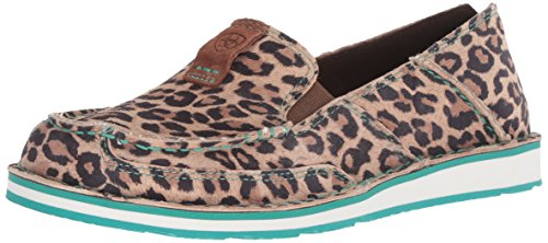 Ariat Women's Cruiser Suede, Western Inspired, Slip-On Shoes, Cheetah, 10