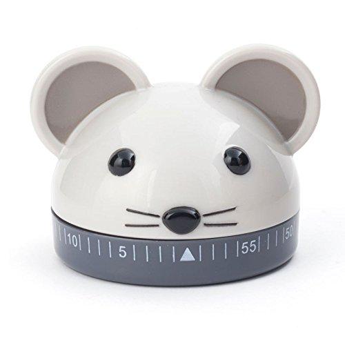 Maus Eieruhr - Mäuschen Küchentimer Kurzzeitwecker Küche Küchenwecker