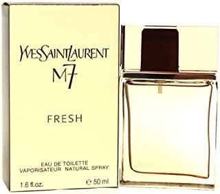M7 Fresh By Yves Saint Laurent For Men. Eau De Toilette Spray 1.6 Oz