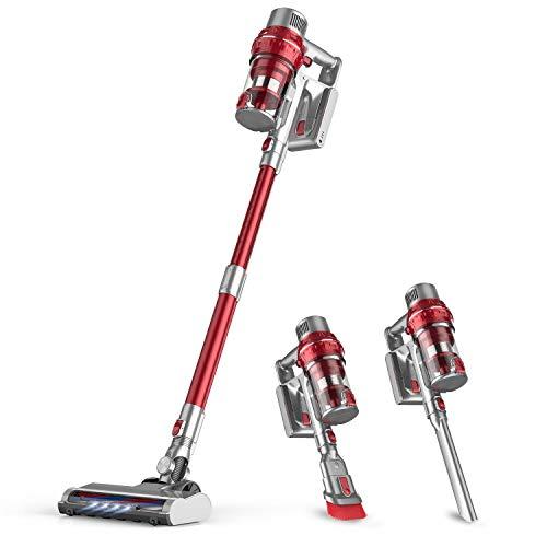 BuTure Cordless Vacuum, 26KPa Powerful Stick Vacuum,35min Runtime Lightweight Vacuum Cleaners