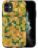Casfy - Funda para teléfono compatible con iPhone 11, Vintage Pixels KU104_5, diseño de moda, diseño de moda, accesorios de teléfono