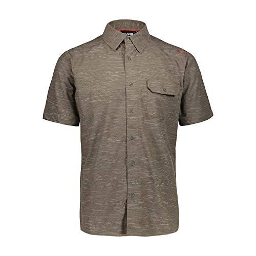 CMP Camicia Stretch A Quadretti Camisa Hombre