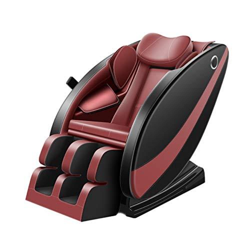 Wheel-hy Ganzkörper Shiatsu Massagesessel, 3D Massage und Zero-Wall Funktion, 6 Massagezonen, Komfort Deluxe