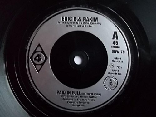 Eric B. & Rakim / Paid In Full (Mini Madness - The Coldcut Remix)