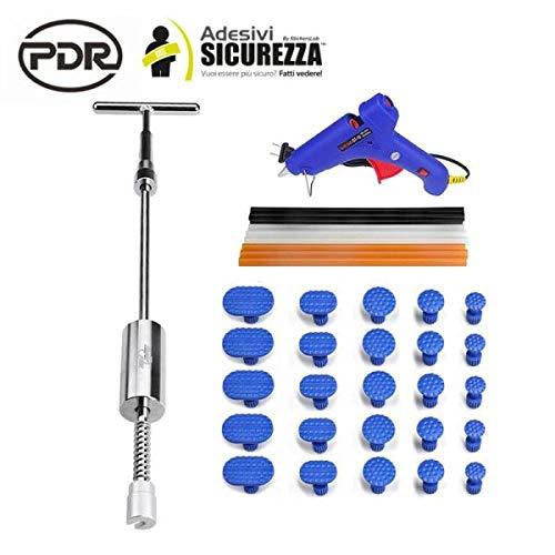 stickerslab – Kit PDR 36 pièces Complet réparation Débosselage carrosserie Professionnel