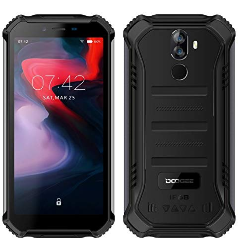 DOOGEE (3GB+32GB) Robustes 4G Android 9,0 Handy ohne Vertrag,5,5