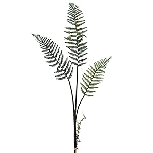 "Silk Flower Arrangements 58"" Forest Fern Bundle x3(Pack of 6)"