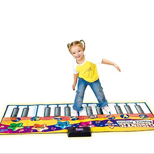 Best Bargain XINGXIANYIGOU Electronic Piano Mat, 71-inch 24-Key Folding Music Keyboard Pad, Birthday...