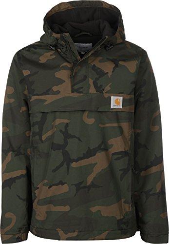 Herren Jacke Carhartt WIP Nimbus Pullover Jacke XL camo combat green
