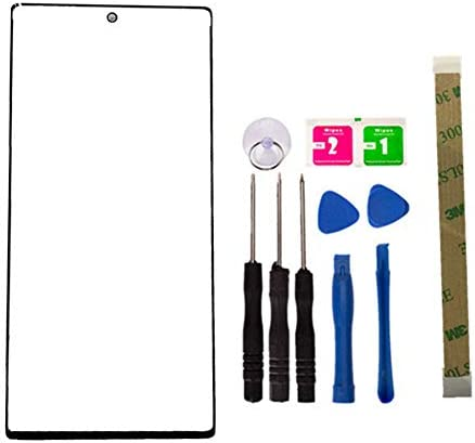 Replacement Repair Front Outer Top Glass Lens Cover Screen for Samsung Galaxy Note 10 Plus 5G product image