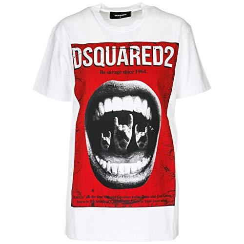DSQUARED2 Camiseta Hombre Bianco XL