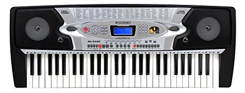 McGrey BK-5420 Keyboard (54 Tasten, 100 Klangfarben, 100 Rhythmen, Lernfunktion, Mikrofon, Netzteil, Notenständer)