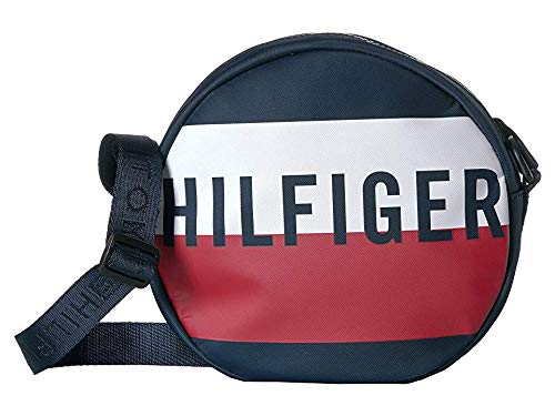 Tommy Hilfiger Keys Canteen Crossbody Navy/Red/White One Size