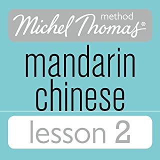 Michel Thomas Beginner Mandarin Chinese Lesson 2 audiobook cover art