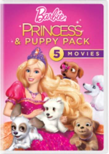 Barbie Princess & Puppy Pack (5 Dvd) [Edizione: Stati Uniti] [Italia]