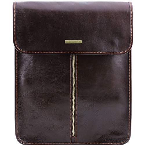 Tuscany Leather Esclusivo portacamicie in pelle Testa di Moro