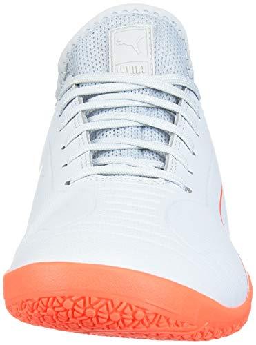 PUMA Men's 365 Sala 2 Futsal-Shoe, Grey Dawn-nrgy Red, 11.5 UK