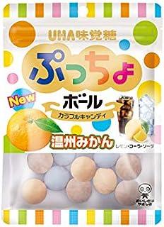 UHA味覚糖 ぷっちょボール カラフルアソート袋 55g ×6袋