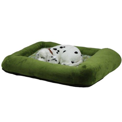Teafco Otto Bett aus Memory-Schaum, mit Wärmeentlastung, Größe S, Grün