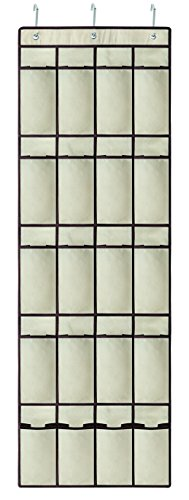 ORGANIZADOR CLOSET PORTA FOLD BEGE/MARROM 44X136H