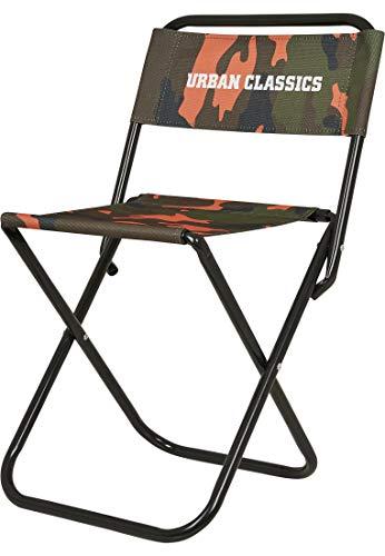 Urban Classics Camping Stuhl Camo Chair Reise-Klapp-Stuhl 60 cm, Neonorange