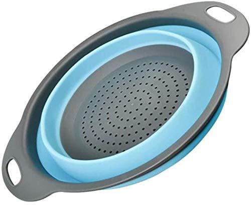 Colador de silicona TF Colador de silicona plegable Colador de cesta de lavado de frutas y verduras Herramienta de cocina