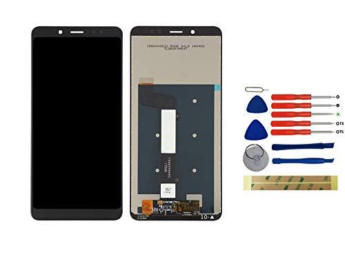 Yixi Pantalla para Xiaomi Redmi Note 5 / Note 5 Pro MEG7S MEC7S MEE7S Pantall LCD Pantalla Táctil Negro Repuesto de Pantalla Recambio (sin Marco)