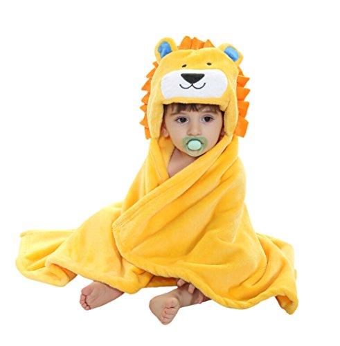 CuteOn Bebé Niños Niñas Flauta Ultra-suave Toalla de baño Toalla - con...