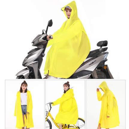 Himenooji Imperméable à l'arc-en-Ciel Poncho Unisexe Hommes vêtements de Pluie léger à la Mode...